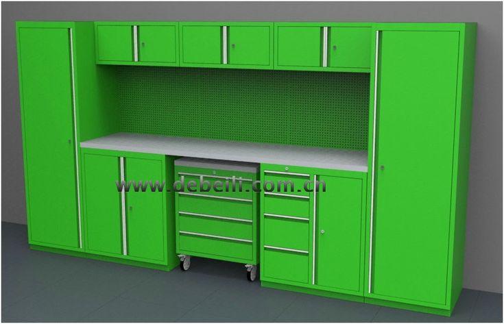 Armoire Rangement Garage en 2020 | Rangement garage ...