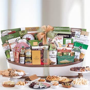 Gourmet Basket for Business. See more at www.pro-gift-baskets.com!