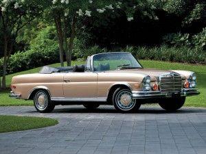 Mercedes-Benz 280SE 3.5 Cabriolet – 1971