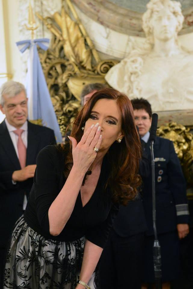 Cristina en Casa Rosada: Jura de nuevos miembros... | Cristina Fernández de Kirchner