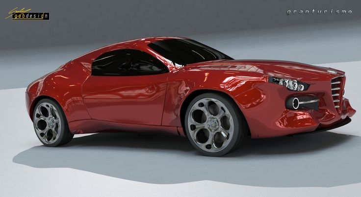 Alfa Romeo granturismo by GabrieleLongo #alfa #alfa romeo
