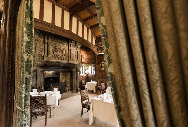 The Tudor Suite dining room - stay in the Astor Wing at Hever Castle & breakfast in style in this gorgeous room   Stay in a castle #kent #england