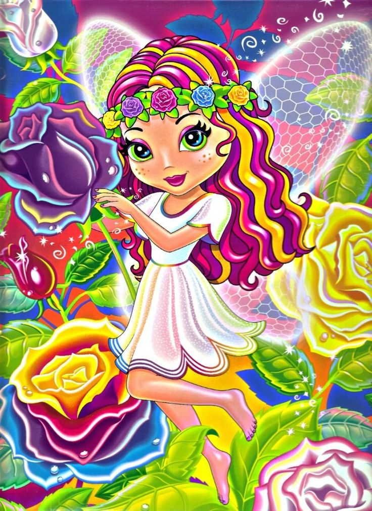 lisa frank fairy coloring pages - photo#35