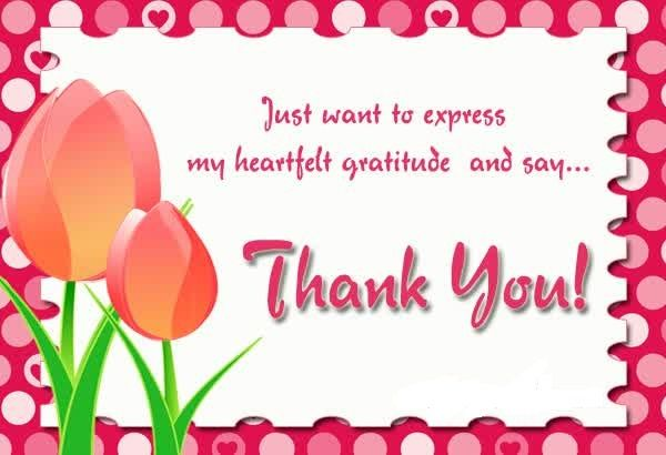 Thank You Card Message For Free