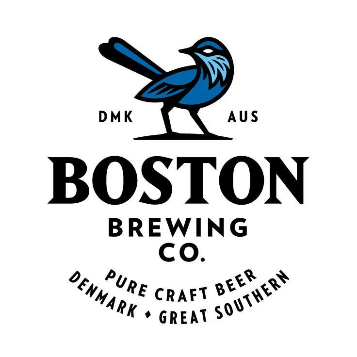 Logo design for @bostonbrewingco  The Blue Wren represents Denmark WA, home to this amazing Bird & brewery.  #zendoke #typetopia #bostonbrewingco #bostonbrewery #wacraftbeer #craftbeer #design #logo #typography #beerdesign #denmarkWA #greatsouthern # #designspiration