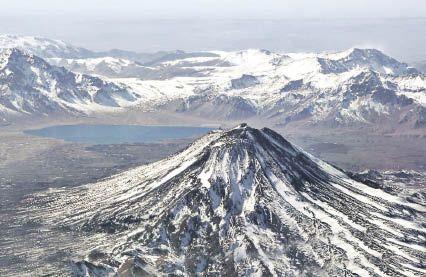 volcanes de chile maipo -