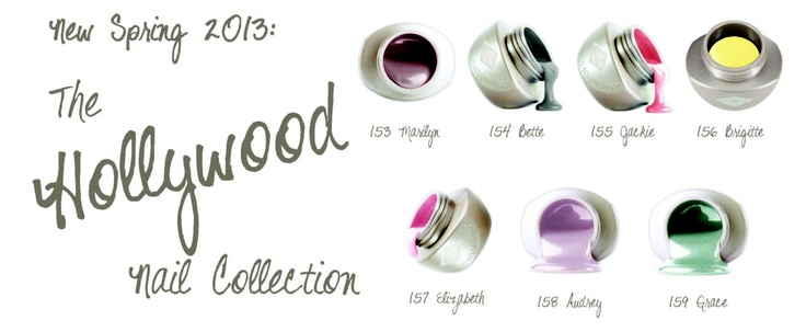 Bio Sculpture's Hollywood Nail Collection! Perfect for Spring!
