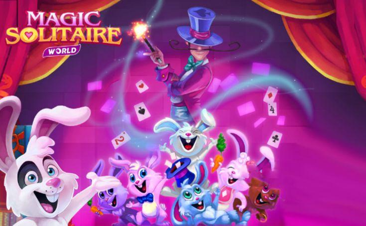 Jouez gratuitement à Magic Solitaire en plein écran! Un superbe solitaire multi-niveaux! Dans chaque niveau, cliquez sur les cartes de un au-dessus ou au-d...