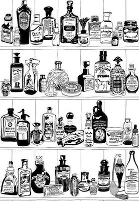Potions wallpaper by Dupenny