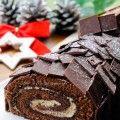 Tronchetto di Natale al tiramisu e nutella bouche de noel vickyart arte in cucina