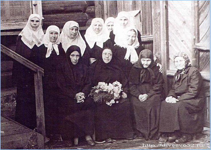 Муром: Дивеевские сестры после закрытия монастыря в 1927 году: http://diveevo52.ru/