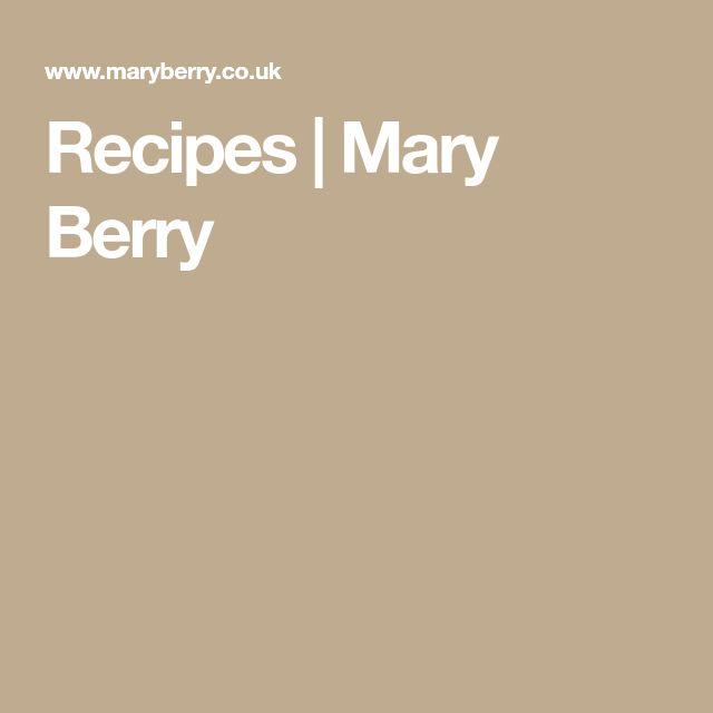 Recipes | Mary Berry