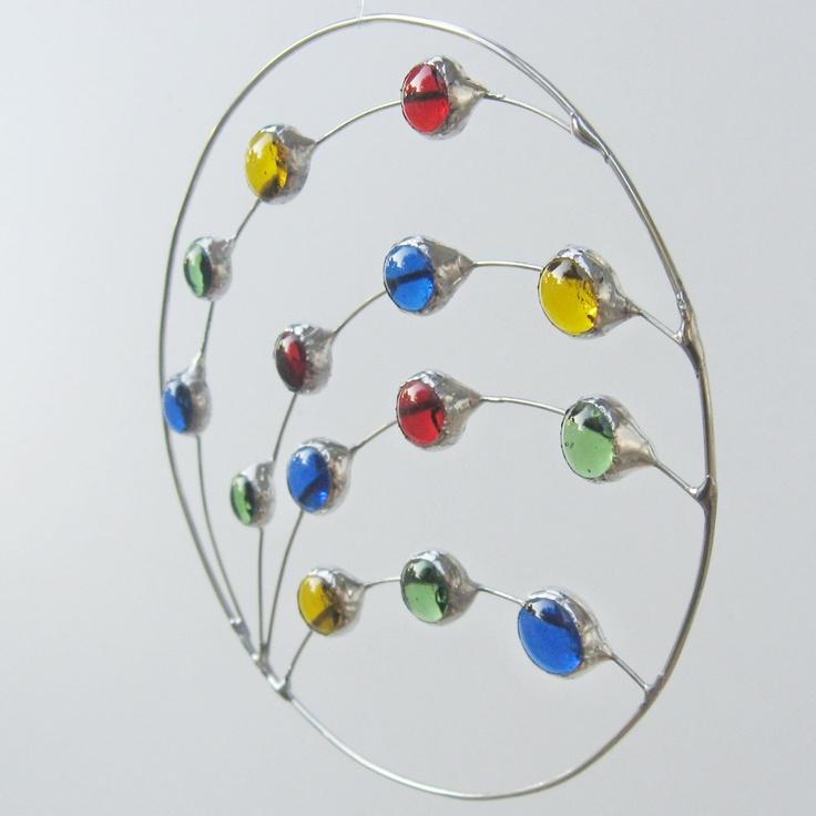 Rainbow Circle and Wire Suncatcher.