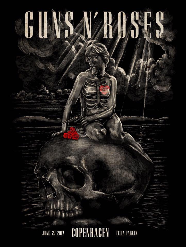 Guns N' Roses Gig poster Not in this lifetime tour June 27 ...