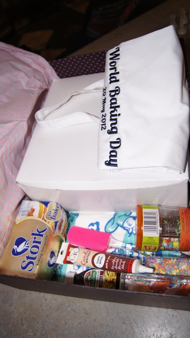 The contents of the box...