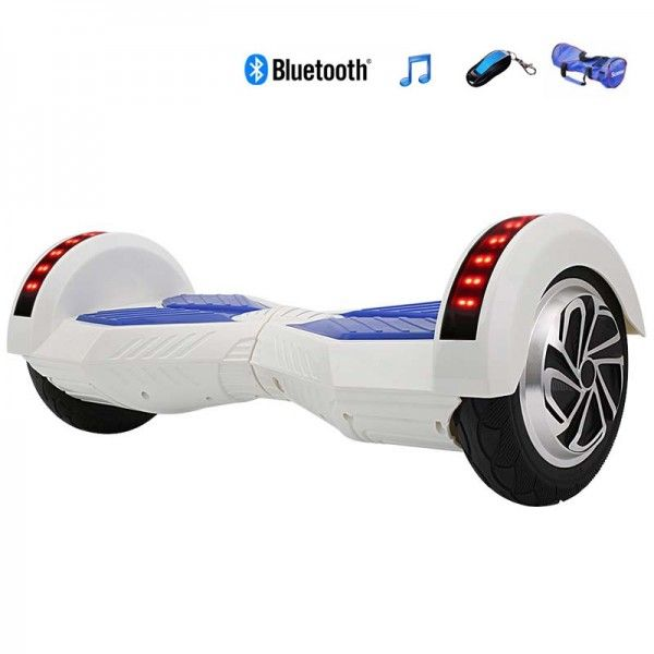Iscooter 8 Inch Two Wheels Self Balancing Smart Electric