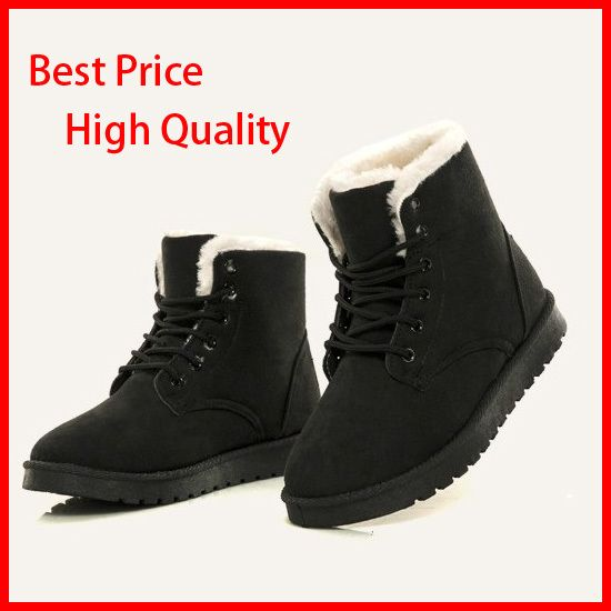 Cheap boots Buy Quality boots pvc directly from China boot design  Suppliers: Women Leather Boots Winter Snow Boot Women Shoes Botas de agua  mujer Over the ...