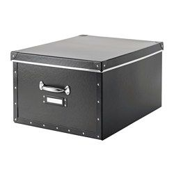 Suitable for bulky items like blankets, comforters, and games. Easy to pull out and lift as the box has handles. The label holder helps you organize and find your things.