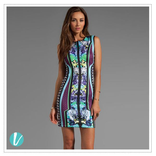 Statement Prints for the Urban Fashionista! Shop this by Product Code: 251592. #statementprints #printmania #prints #bodycondress #minidress #dressy #premium #vilara