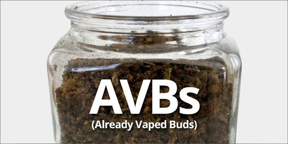 """What Can I Do With My Already Vaped Buds? 