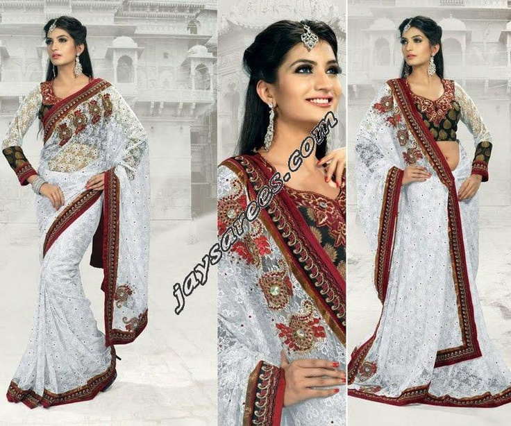 STUNNING SIZZELING EXCLUSIVE PARTY WEAR DESIGNER SAREE    SIZE 6.30 MTR    FABRIC SHIMMER GEORGETTE / NET    WORK ZARI EMBROIDARY SEQUENCE AND MOTIFF WORK ALL OVER