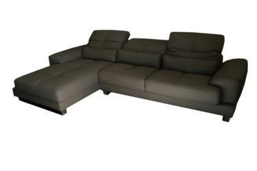 Napoli 3 Seater Chaise Sofa (many colours available), Luxury Italian Leather Sofas, Sofas, Sunshine Coast Furniture