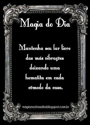 Magia no Dia a Dia: Magia do Dia: Hematita