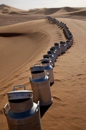 Maroc Bidons sans frontières