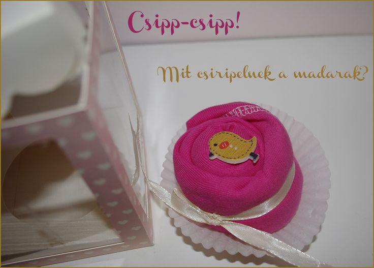 Pink muffin body kislányoknak