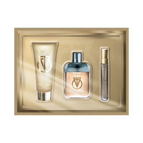 Touche Verdict For Her Gift Set Impression of Guilty By Gucci. Set Includes a 2.5 oz. Perfume, 3 oz. Moisturizing Body Lotion, and a .3 oz Mini Vial by PREFERRED FRAGRANCE. $49.99. Touche Verdict For Her  2.5 oz. Eau De Toilette, 3 oz. Body Lotion & .3 oz Mini Vial. By PREFERRED FRAGRANCE