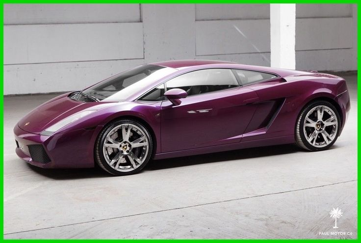 Awesome Lamborghini 2017: 2007 Lamborghini Gallardo Viola Ophelia Gallardo For Sale 2007 Viola Ophelia Gallardo For Sale Used 5L V10 50V Manual AWD Premium