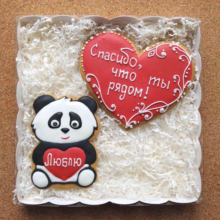 Panda, cookies, gingerbread