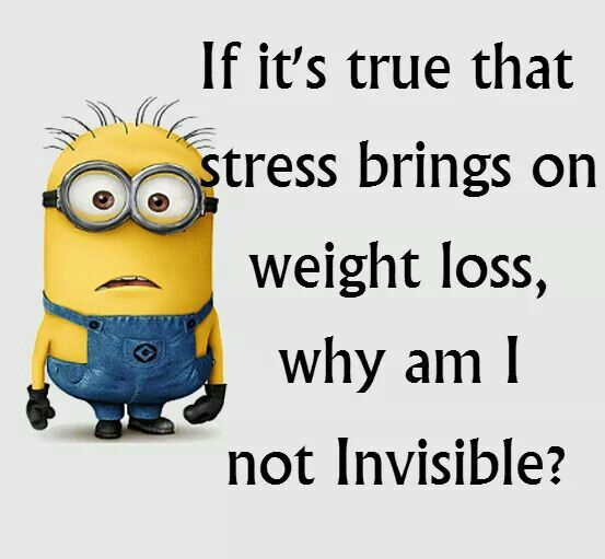 Because it doesn't. Stress caused cortisol levels to rise, which in turn causes fat to be stored