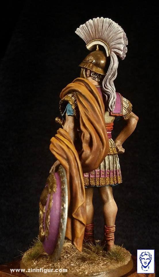 Berliner Zinnfiguren | Cónsul Romano - 3. - 2do siglo AC | compra en línea