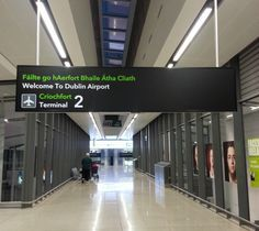 welcome to Dublin Airport. Arrival and departure tips for Dublin Airport. Ireland travel tips | Ireland vacation | IrelandFamilyVacations.com