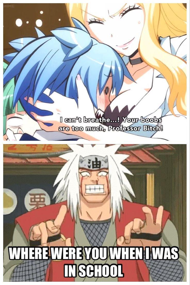 Assassination classroom X Naruto meme Ash Carter