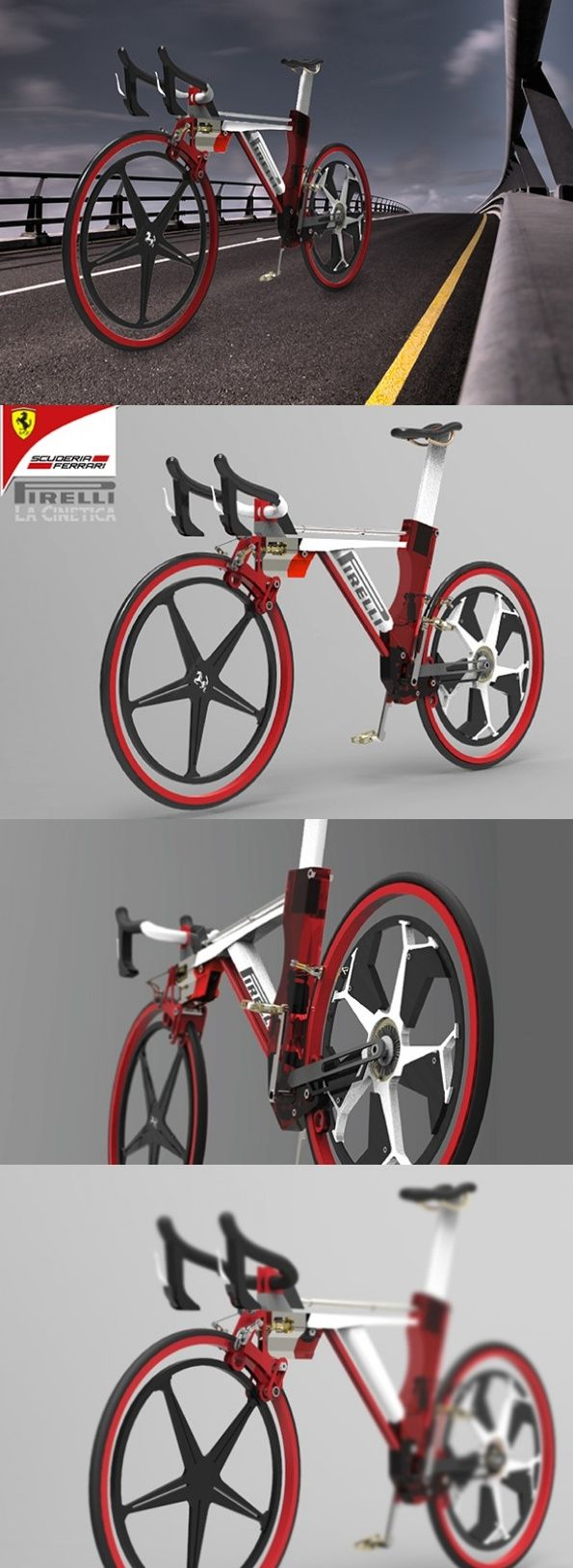 11 Best Cool Folding Bike Designs Images On Pinterest Biking