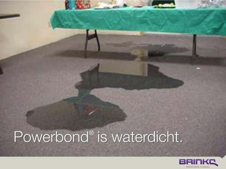 Waterdicht.