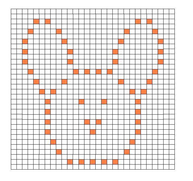 Crochet Bobble Stitch Pattern Bunny