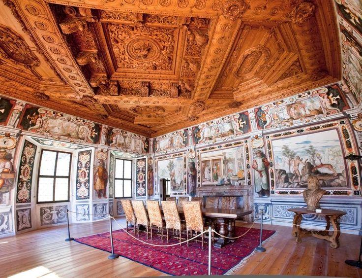 Sala dello Zodiaco - Palazzo Vertemate Franchi - Piuro - #Valchiavenna  #cultura #storia #valtellina