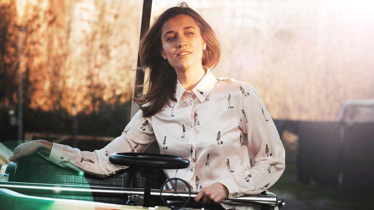 Le camicie G.A.N sono stampate su tessuto di cotone e seta, caratteristica principale del brand, e disegnate a mano da FEDERICA ANNE DUCOLI.