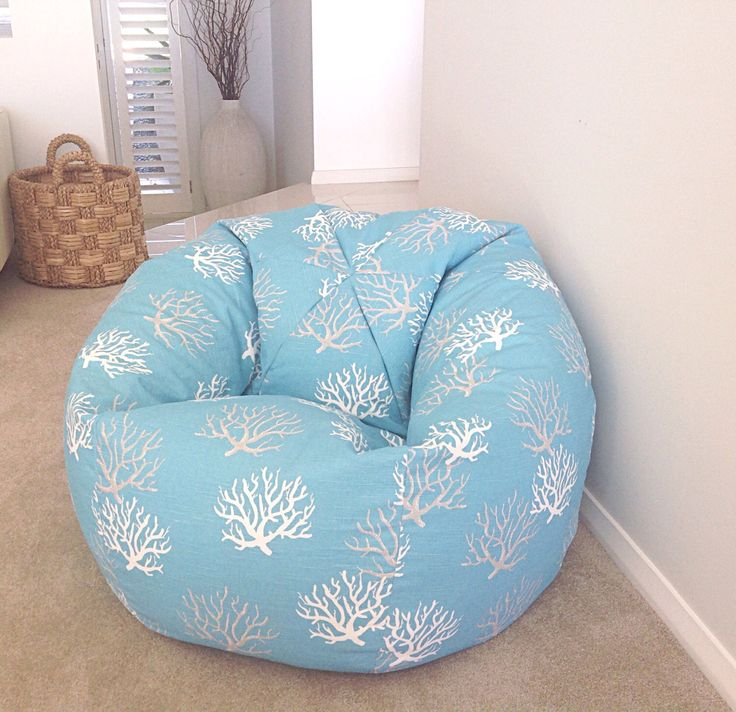 Bean Bag Coastal Style Turquoise Kids & Adults Bean Bag Cover Coral Beach House Decor Navy Blue White Grey, Turquoise, Salmon, Grey Bean Bag by MyBeachsideStyle on Etsy https://www.etsy.com/listing/231350467/bean-bag-coastal-style-turquoise-kids