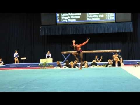 Simone Biles -- Floor Exercise -- 2012 U.S. Secret Classic the double layout is just amazing!!!!!!