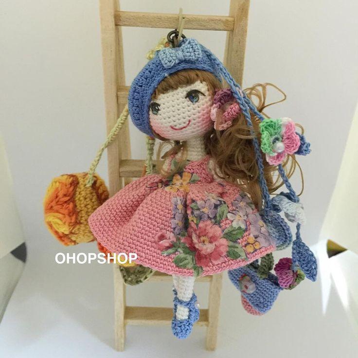 #mulpix  #bagcharm #muffinthedoll #crochet  #crochetdoll  #crochetdolls…
