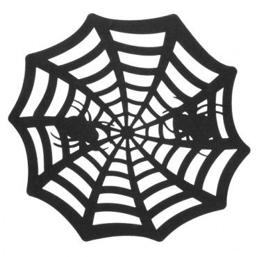 Spiderweb Table Mat - Halloween Party Decorations - Halloween