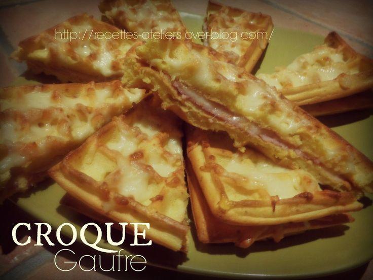 Croque Gaufre En voilà une recette de gaufres originales !! Réalisée avec l'Orgran farine fermentante de mon Partenaire : NO GLUTEN SHOP http://www.noglutenshop.com/fr/ https://www.facebook.com/NoGlutenShop Ingrédients pour 4 croque gaufres : 2 œufs 125ml...