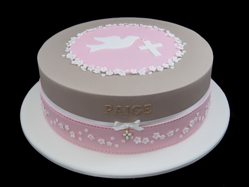Idea for year 6 leaver's cake - going to swap brown for white and pink to st swithun's blue - centre to be replaced by dove run out and school logo - daisies' replaced by piped matchstick children holding hands in circle around edge
