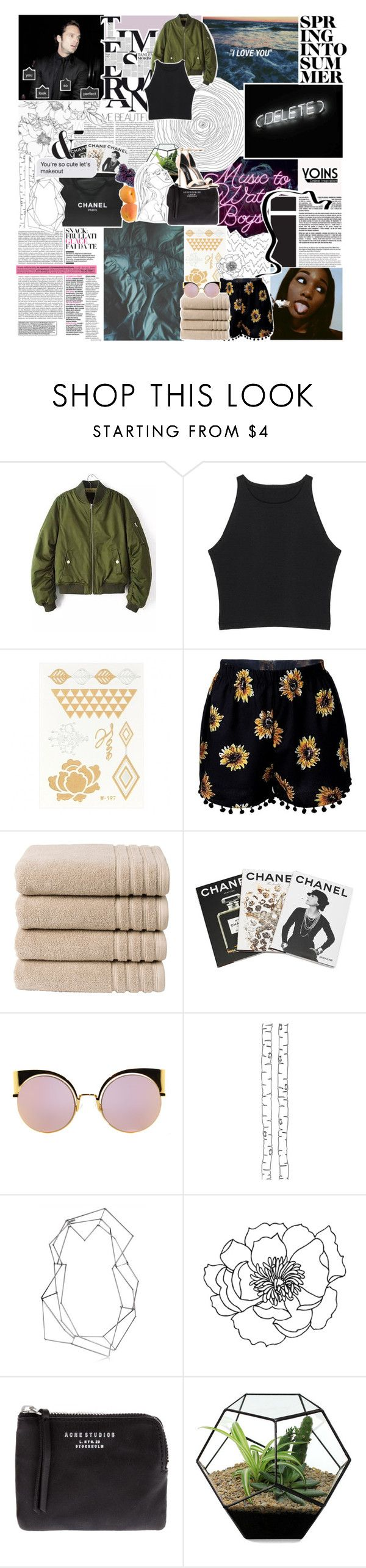 """if ever our love was concealed ; yoins"" by oreokk22 ❤ liked on Polyvore featuring Sebastian Professional, Christy, Assouline Publishing, Fendi, Chanel, ferm LIVING, BANCI GIOIELLI, Acne Studios, Tom Ford and yoins"