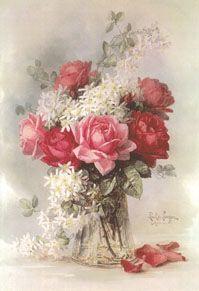 Оформление Интерьера - Картины В Рамке - Потертый Шик - Florals5