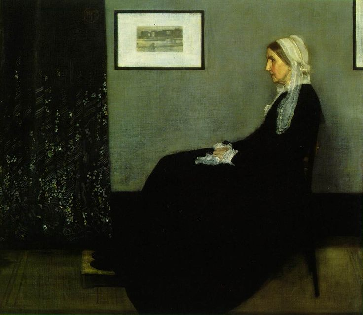 James Abbott McNeill Whistler Everyone remembers Mr.bean while seeing this painting.